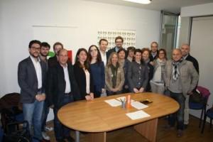 Pd Siena: la carica democratica dei segretari Pd si presenta alla città